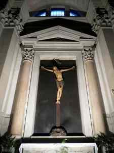 Venetian Polychrome Crucifix