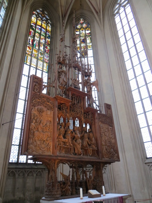 Altar of the Holy Blood (sideview)