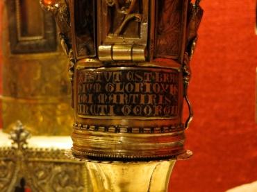Plaque of S George Reliquary