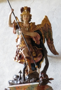St. Michael and Dragon, Minster of the Holy Cross, Rottweil, Germany