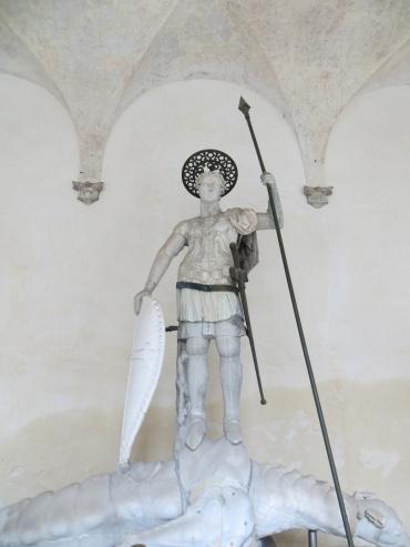 Statue of Saint Theodore