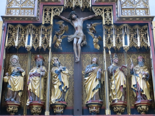 Twelve Apostles Altar - Detail