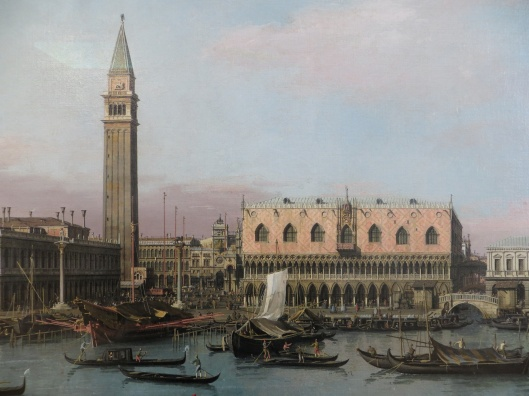 Antonio Canaletto, Piazzetta in Venice, Alte Pinakothek, Munich, German