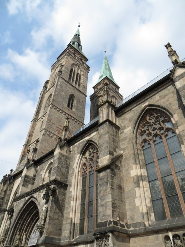 Exterior of the Church of St. Sebaldus, Nuremberg, Germany