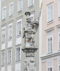 St. Florian Fountain, Salzburg, Austria