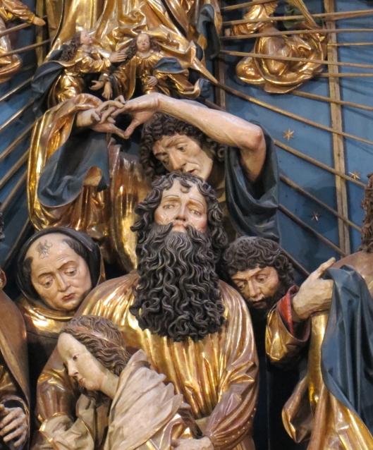 Saint Matthias on Mary's Altar (detail)