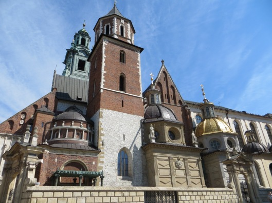 Wawel Cathedral, Krakow, Poland.  Blessed John Paul, known a Karol Wojtyla, celebrated his first Mass as a priest in the Crypt of Wawel Cathedral on 2 November 1946.