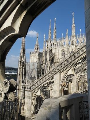 Milan Cathedral - Spires 3