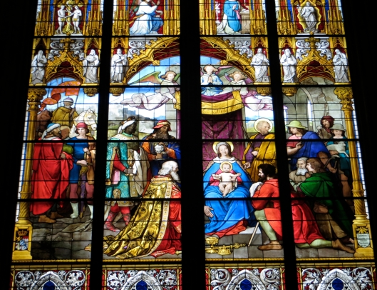Window of the Adoration of the Magi, Cologne Cathedral