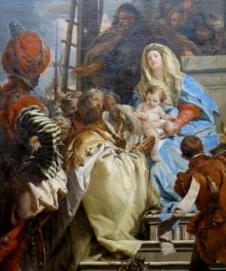 Adoration - Tiepolo (detail) 2