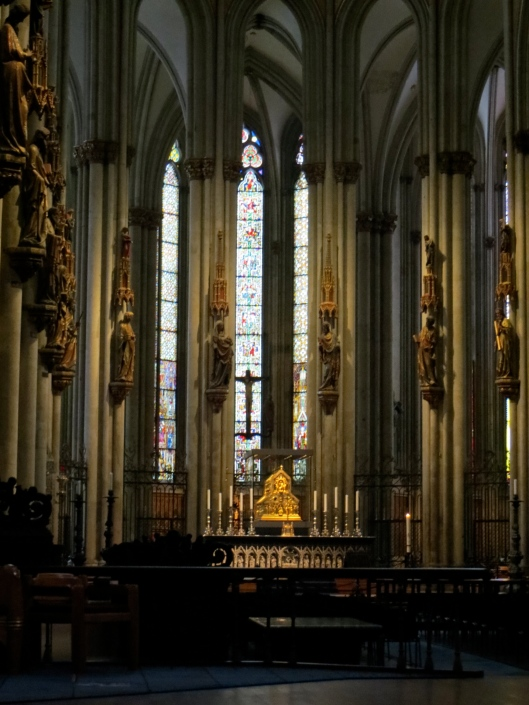 Shrine of the Three Kings, Cologne Cathedral, Cologne, Germany