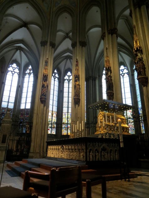 Shrine of the Three Kings, Cologne Cathedral