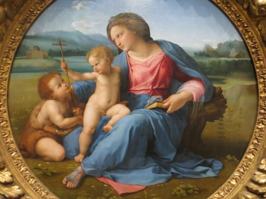 The Alba Madonna, Rafael, oil on panel transferred to canvas (1510), National Gallery of Art, Washington, D.C.