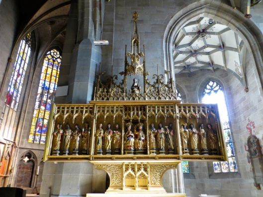 Altar with Saints, Church of the Holy Cross, Rottweil, Germany