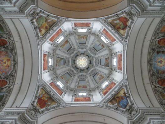Interior of Dome, Salzburg Cathedral (Salzburger Dom), Salzburg, Austria