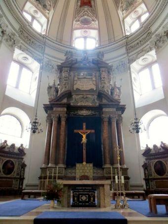 High Altar, Salzburg Cathedral (Salzburger Dom) Salzburg, Austria