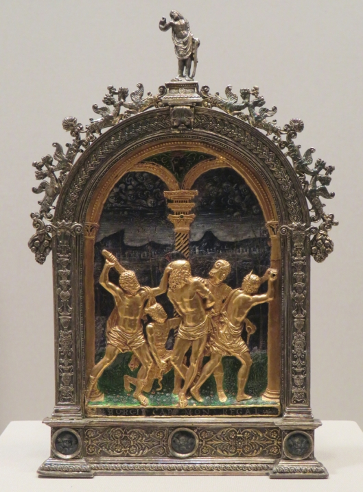 Flagellation of Christ - Borgia (Met Museum)
