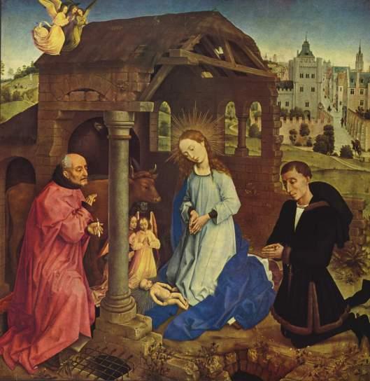 Nativity - Rogier van der Weyden