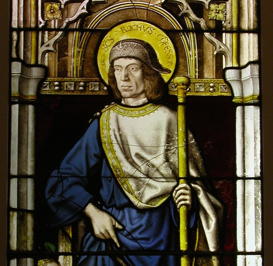 Saint Roch - Stained Glass Window